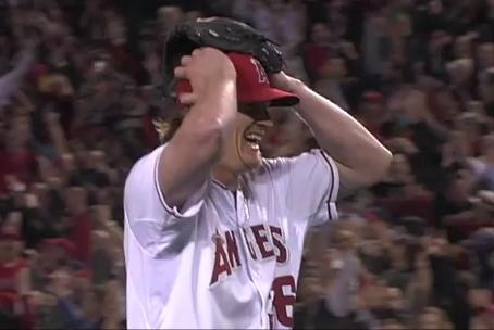 Jered Weaver arremessa no-hitter