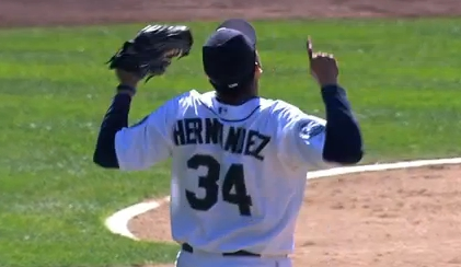 King Felix Hernandez Perfect Game