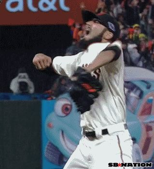 sergio romo celebrating