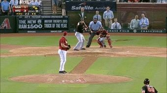Exemplo de 4-Seam Fastball